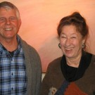 Lloyd with his first piano teacher Elaine (Korman) Keys, 2008