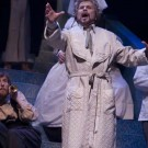 The Dream Healer (2008) -- ROELOF OOSTWOUD as Pilgrim & Members of the UBC Opera Ensemble -- Photo by Tim Matheson