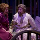 The Dream Healer (2008) -- JUDITH FORST as Lady Sybil, ROELOF OOSTWOUD as Pilgrim -- Photo by Tim Matheson