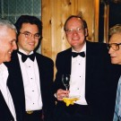 July 2002 - Lloyd Burritt, George Roberts, Accompianist David Boothroyd, Harold Brown