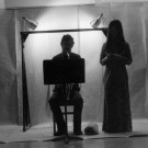 Electric Chair (1971) -- Vancouver performance (1972); David Branter, saxophone; Marilyn Sugiyama, actress